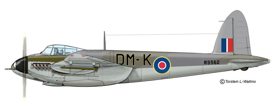 RAF Forced Landing - Mosquito FB Mk VI, DM-K - Serial # RS562 Will Smith
